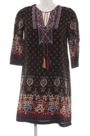 Molly bracken Hippie Dress ethnic pattern Aztec print