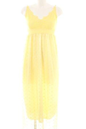 Molly bracken Maxikleid gelb Blumenmuster 60ies-Stil