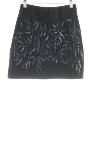 Molly bracken Minirock schwarz florales Muster Elegant