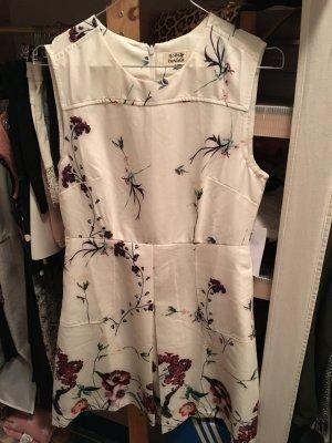 Molly Bracken Sommerkleid S 36 38 Creme bunt Blumen Floral neu Kleid A-Linie