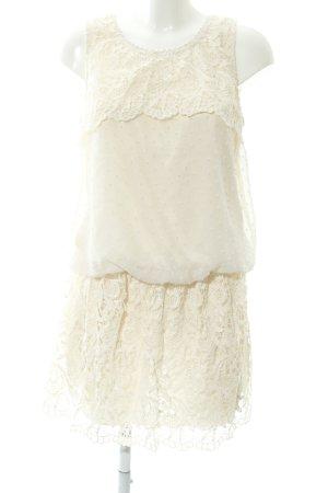 Molly bracken Spitzenkleid creme Romantik-Look