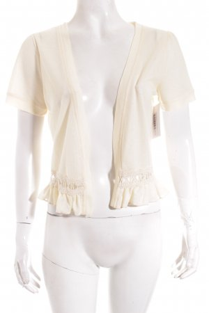 Molly bracken Strickbolero creme Romantik-Look