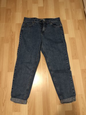 Pull & Bear Hoge taille jeans blauw-azuur