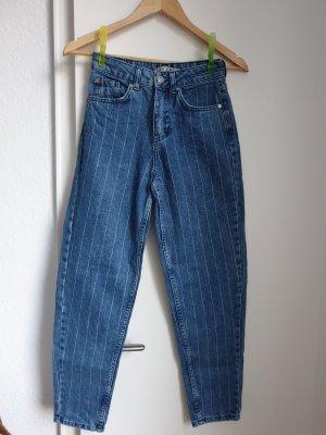 Primark High Waist Trousers azure-cornflower blue