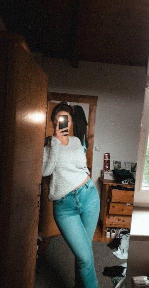 Pimkie Pantalone a vita alta blu