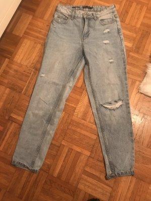 Bershka Boyfriend jeans blauw