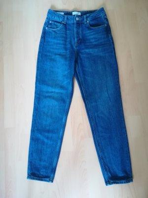 Selected Femme Jeans taille haute bleu