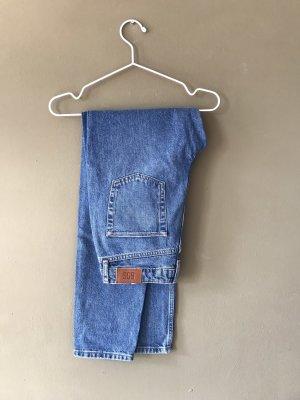 BDG High Waist Trousers steel blue