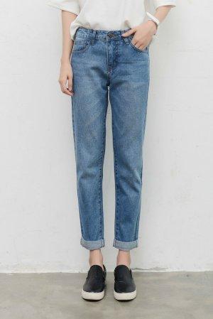 Mom jeans hellblau