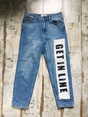 BDG Pantalone boyfriend blu