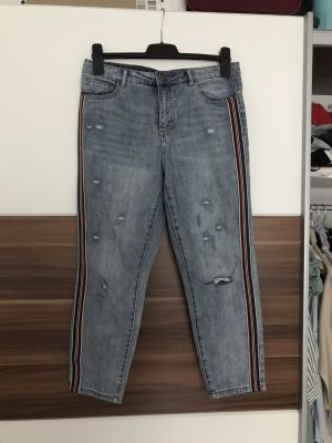 Only 7/8-jeans azuur