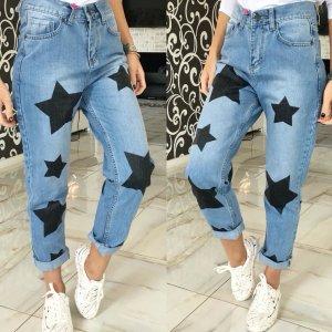 Mom jeans Sterne gr S