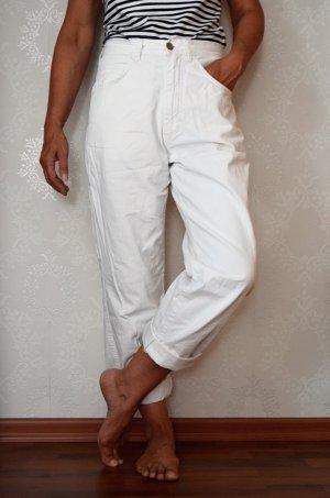 Mom Jeans True Vintage Highwaist Weiß Hustler Denim