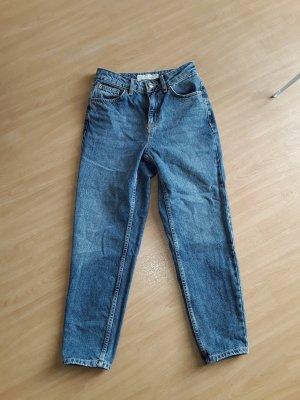 Topshop Petite Jeans slim bleu acier