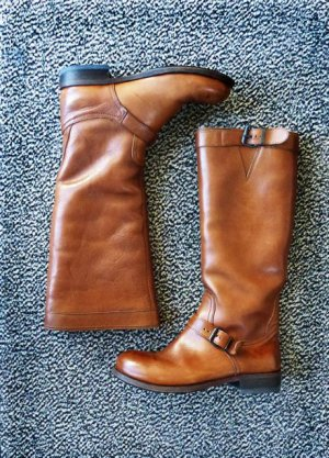 MOMA - Damenstiefel/ Boots - Echt Lammfell - Gr.37 ( 38)