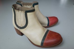 Moma Western Booties multicolored leather