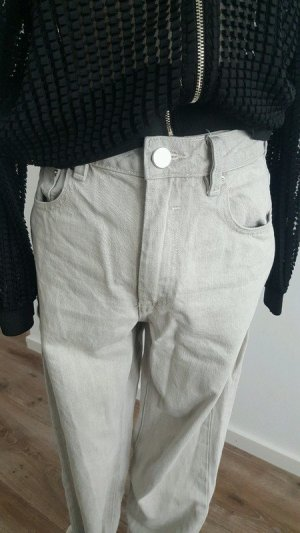 Zara Boyfriend Jeans light grey