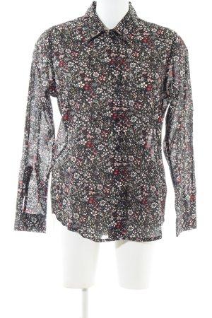 Mona Long Sleeve Shirt allover print business style