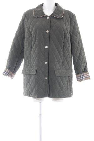 Mona Quilted Jacket khaki simple style