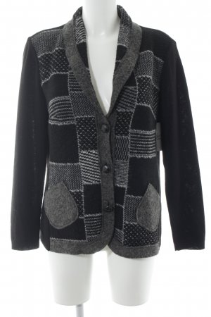 Mona Wool Blazer abstract pattern casual look
