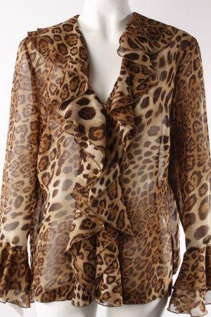 Monari Bluse Leopardenprint