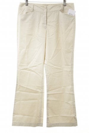 Monari Chinohose creme Casual-Look