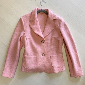 Monari Blazer en laine rosé-rose