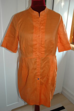 Monari Robe chemise orange ramie