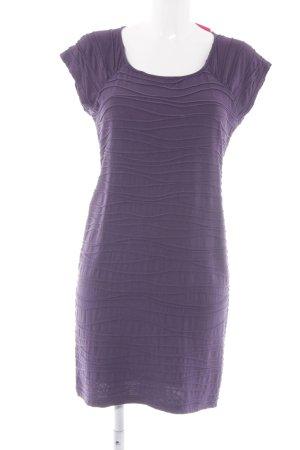 Monari Jerseykleid dunkelviolett Casual-Look