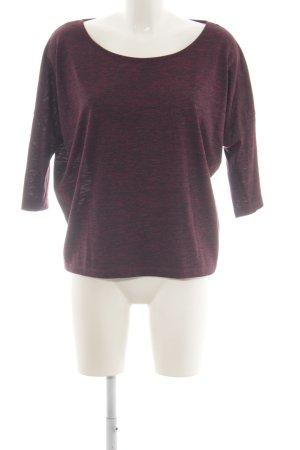Monari Oversized shirt rood volledige print casual uitstraling