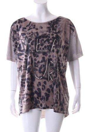 Monari Oversized Shirt Punktemuster Casual-Look