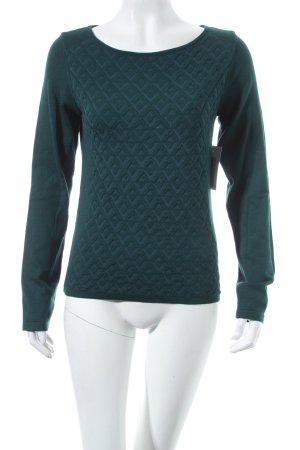 Monari Pullover dunkelgrün Casual-Look