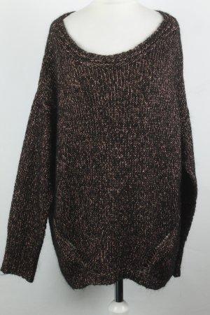 Monari Pullover Gr. 42 bronze schwarz