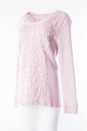 MONARI - Pullover mit Struktureffekt Rosé