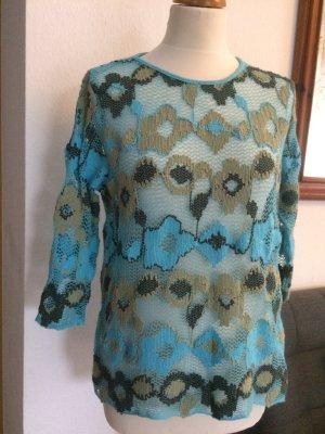 Monari Pullover /Sommer blau Größe 40
