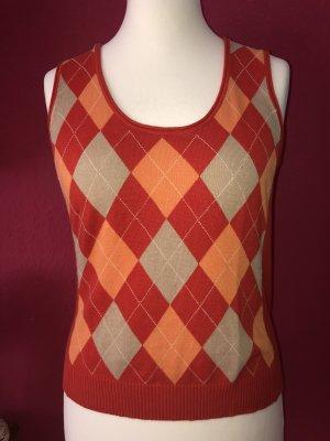 Monari Cardigan en maille fine multicolore coton