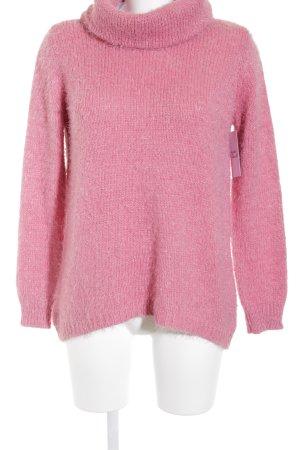 Monari Rollkragenpullover rosa Casual-Look