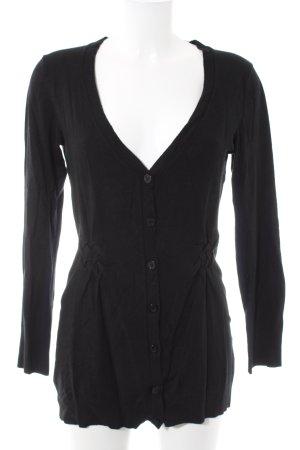 Monari Cardigan black casual look