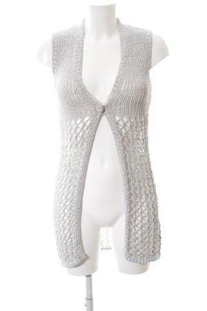 Monari Knitted Vest light grey casual look