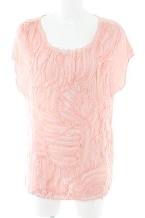 Monari T-Shirt altrosa Casual-Look