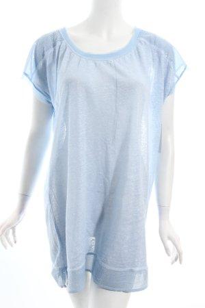 Monari T-Shirt himmelblau Casual-Look