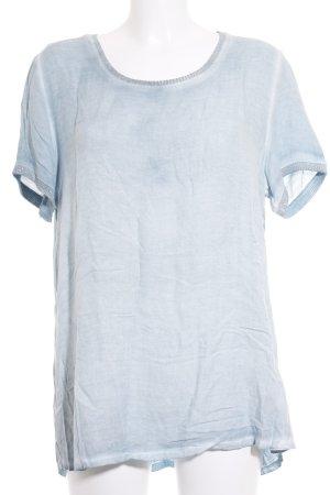 Monari T-Shirt türkis Farbverlauf Casual-Look