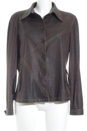 Monari Übergangsjacke bronzefarben Street-Fashion-Look