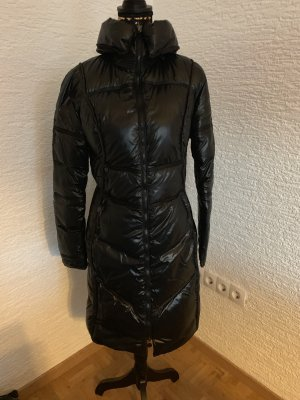 Moncler Cappotto in pile nero