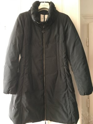 Moncler Down Jacket black-dark blue
