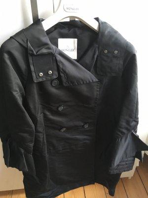 Moncler Hooded Coat black polyester
