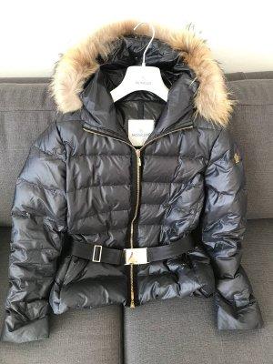 Moncler Daunen Damen Jacke mit Waschbärpelz