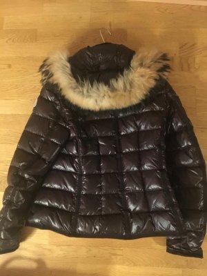 Moncler Down Jacket dark brown-black brown