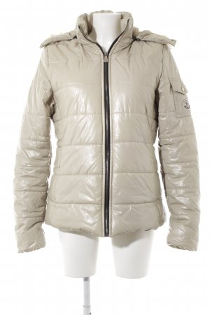Moncler Down Jacket cream casual look