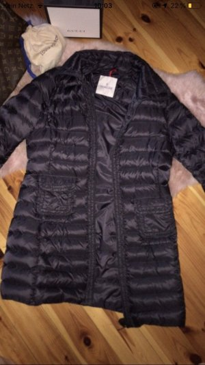Moncler Down Coat black-anthracite